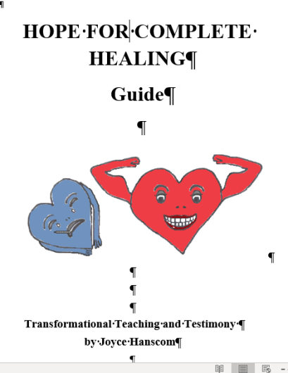 HFCH Booklet title page